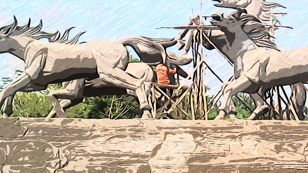 Patung Kuda Taman Samarendah