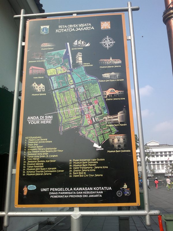 Peta Wisata Jakarta