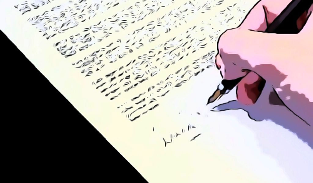menulis cv