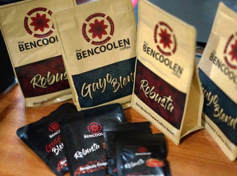 Produk kopi Bencoolen Coffe