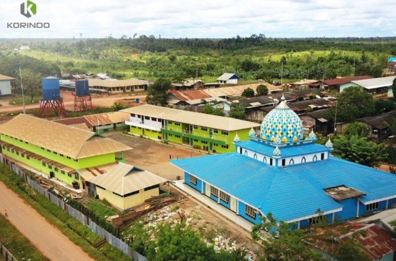 Fasilitas sosial yang diberikan Korindo sebagai wujud kepedulian kepada masyarakat Papua I Korindo