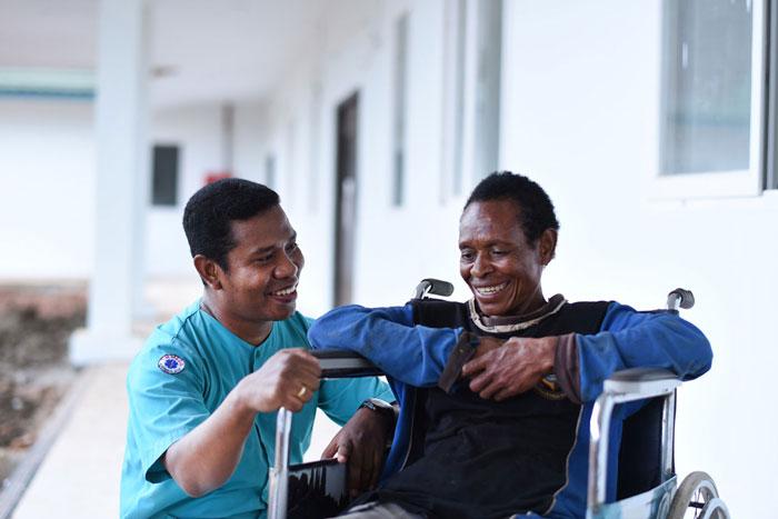 Layanan kesehatan Klinik Asiki sudah dirasakan masyarakat luas I Dokumentasi Korindo