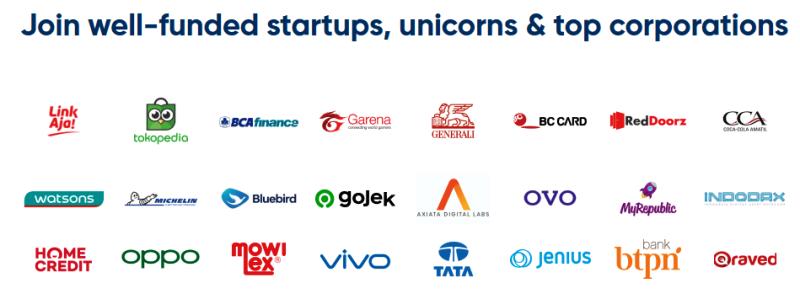 Sekian rekanan perusahaan digital yang yang memburu Digital Talent di Ekrut I Screenshoot