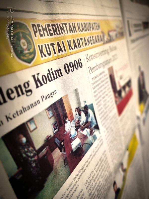 Rubrik Advetorial parlementaria dan pemerintahan daerah menjadi saluran aktif transparasi kebijakan Pemda I Dokumenrasi pribadi