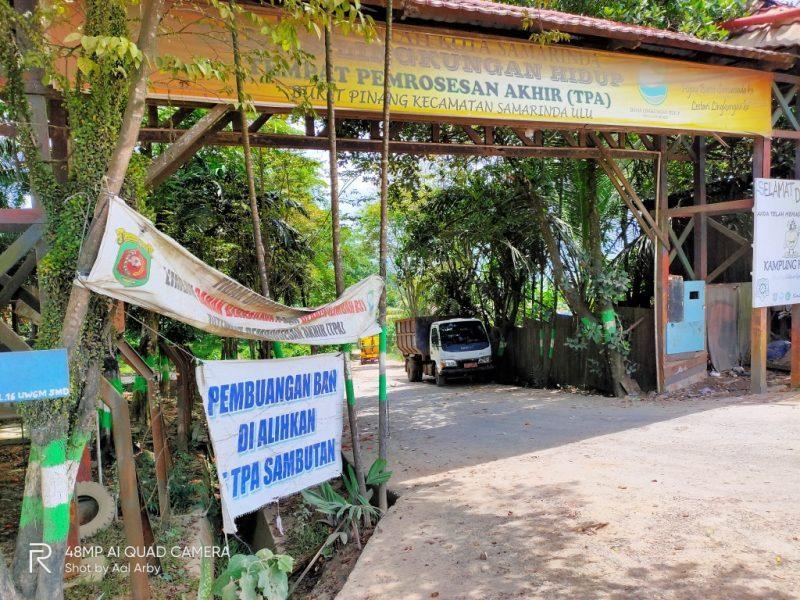 TPA Samarinda yang sudah penuh sesak dan harus dipindahka ke are lain di pinggir kota I Dokumentasi pribadi